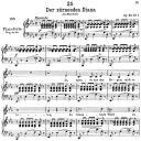 Der zürnender Diana D.707,  Low Voice in E-Flat Major, F. Schubert | eBooks | Sheet Music