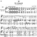 Die Allmacht D.852,  Low Voice in G Major, F. Schubert | eBooks | Sheet Music