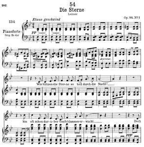 Die Sterne D.939,  Low Voice in B-Flat Major, F. Schubert | eBooks | Sheet Music