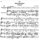 Schlaflied (Schlummerlied) D.527,  Low Voice in E-Flat Major, F. Schubert | eBooks | Sheet Music