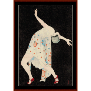 Dancer - Asian Art cross stitch pattern by Cross Stitch Collectibles | Crafting | Cross-Stitch | Wall Hangings