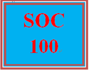SOC 100 Week 2 Social Structure Matrix | eBooks | Education
