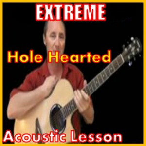 learn to play hole hearted by extreme