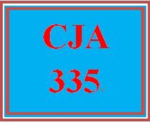 cja 335 week 3 bureau of justice statistics