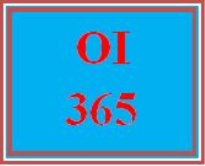 OI 365 Week 5 Information Technology Platform Presentation | eBooks | Education
