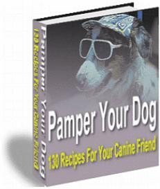 Pamper Your Dog | eBooks | Food and Cooking