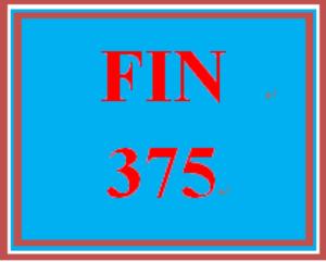 FIN 375 Week 4 Financial Ratio Analysis Team Assignment | eBooks | Education