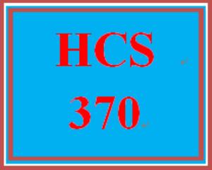 HCS 370 Week 1 Introduction to Organizational Behavior | eBooks | Education