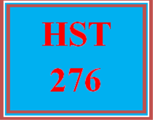 HST 276 Week 4 Week Four Knowledge Check | eBooks | Education