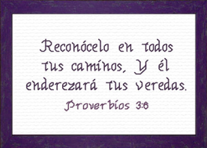 Tus Caminos | Crafting | Cross-Stitch | Religious