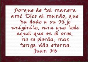 amos dios al mundo