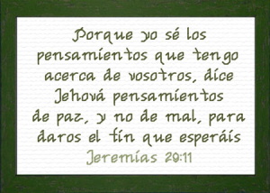 Pensamientos | Crafting | Cross-Stitch | Religious
