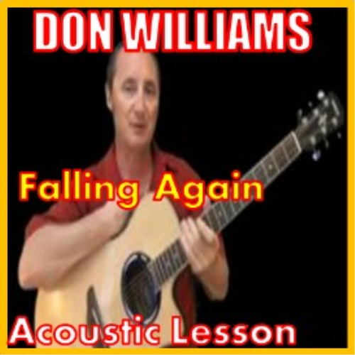 First Additional product image for - Learn to play Falling Again by Don Williams