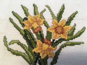 Daffodil Bouquet | Crafting | Cross-Stitch | Floral