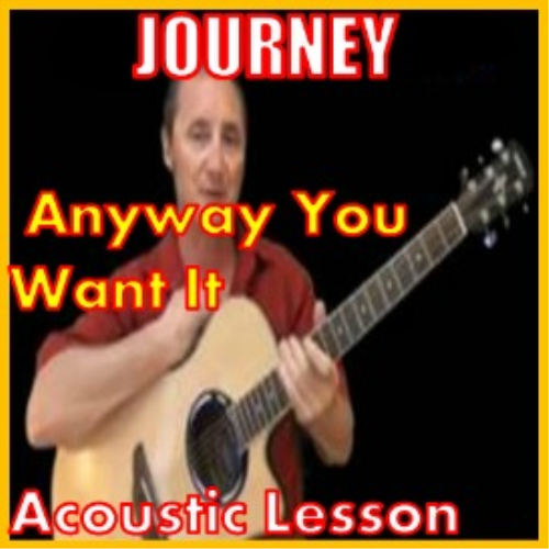 First Additional product image for - Learn to play Anyway You Want It by Journey