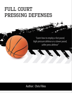 full court pressing defenses playbook