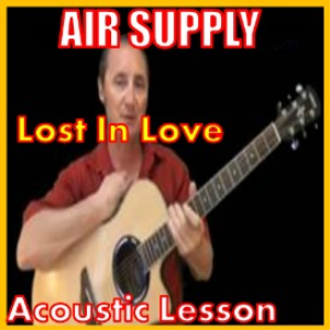 learn to play lost in love by air supply