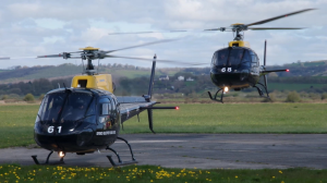 raf twin squirrel helicopter pembrey airport