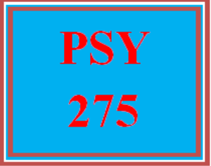 PSY 275 Week 3 Mood and Addictions Worksheet | eBooks | Education