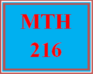MTH 216 Week 4 MyMathLab® Study Plan for Week 4 Checkpoint   eBooks   Education