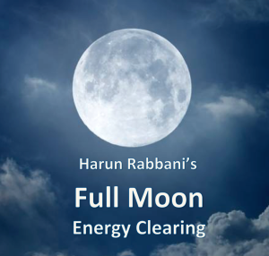 full moon energy clearing