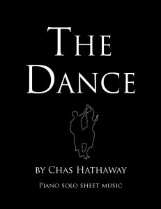 The Dance Sheet Music | eBooks | Sheet Music