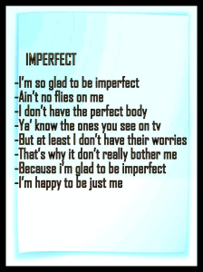 Inspiration Imperfect | Photos and Images | Health and Fitness
