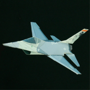 paper f-16 cougars
