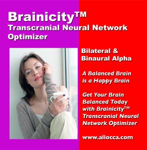 BrainicityTM Transcutaneous Neural Network Optimizer - Bilateral and Binaural Alpha | Music | Other