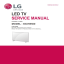 LG 65UH5500 Television Original Service Manual + Schematics   eBooks   Technical
