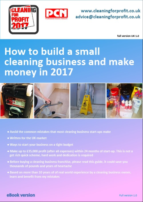 First Additional product image for - Cleaning For Profit 2017