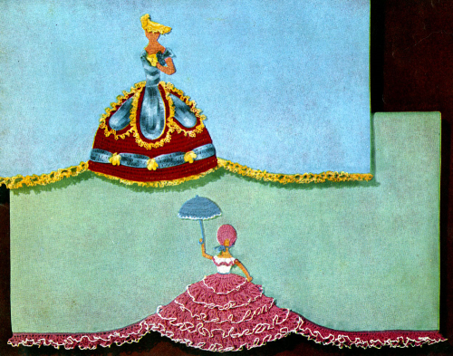 Second Additional product image for - Crinoline Lady in Crochet   Book No. 262   The Spool Cotton Company DIGITALLY RESTORED PDF