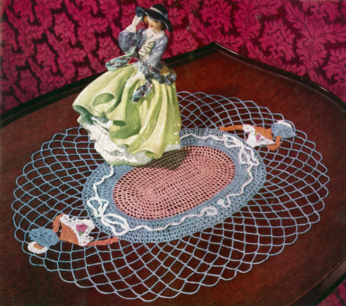 Fourth Additional product image for - Crinoline Lady in Crochet   Book No. 262   The Spool Cotton Company DIGITALLY RESTORED PDF