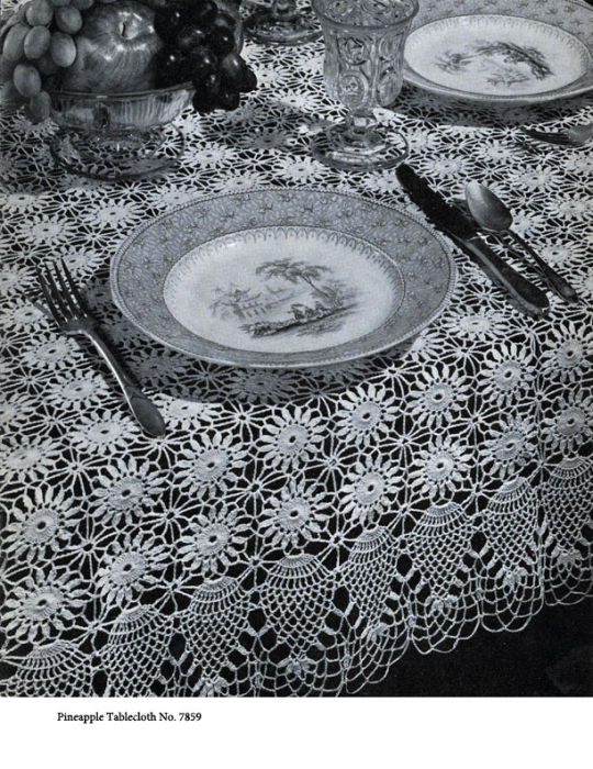 First Additional product image for - Pineapples on Parade | Book No. 241 | The Spool Cotton Company DIGITALLY RESTORED PDF