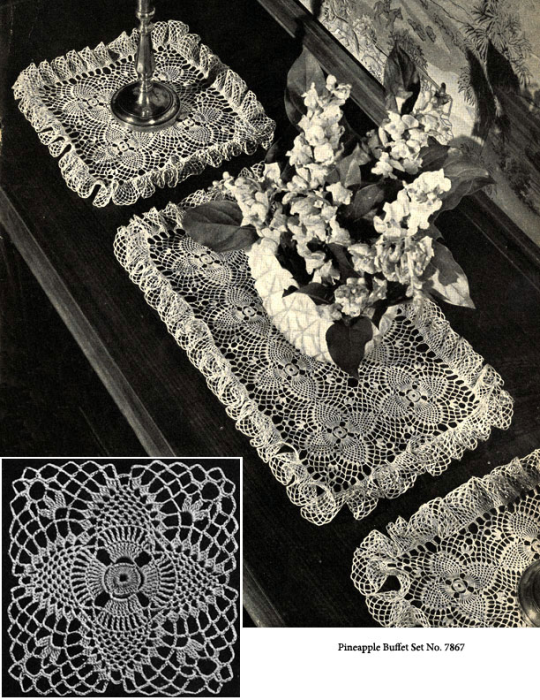 Third Additional product image for - Pineapples on Parade | Book No. 241 | The Spool Cotton Company DIGITALLY RESTORED PDF