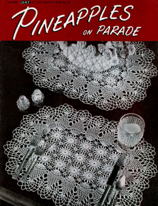 pineapples on parade | book no. 241 | the spool cotton company digitally restored pdf