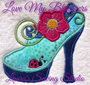 Love My Bloomers - JEF | Crafting | Embroidery