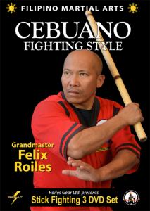 filipino sebuano stick fighting style (3 volume set)