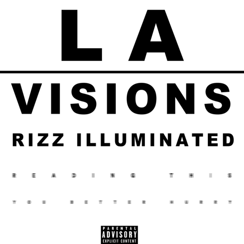 First Additional product image for - L.A Vision By Rizz Illuminated