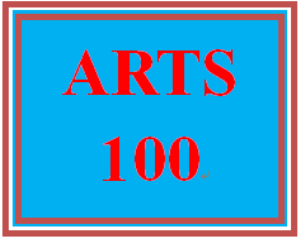 ARTS 100 Week 3 Concepts | eBooks | Education