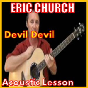 learn to play devil devil by eric church