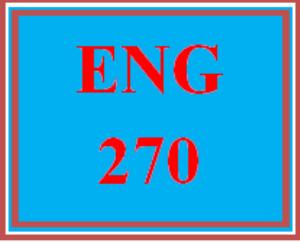 ENG 270 Week 3 Reader Response Journal | eBooks | Education