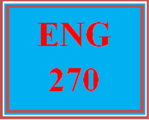 ENG 270 Entire Course | eBooks | Education