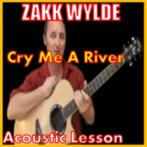 learn to play cry me a river by zakk wylde