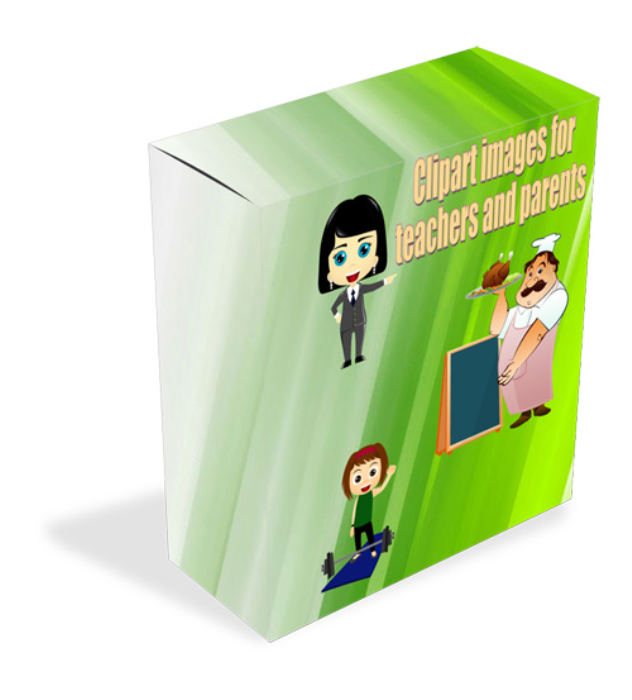 Fourth Additional product image for - HUGE clipart image bundle for kids and parents