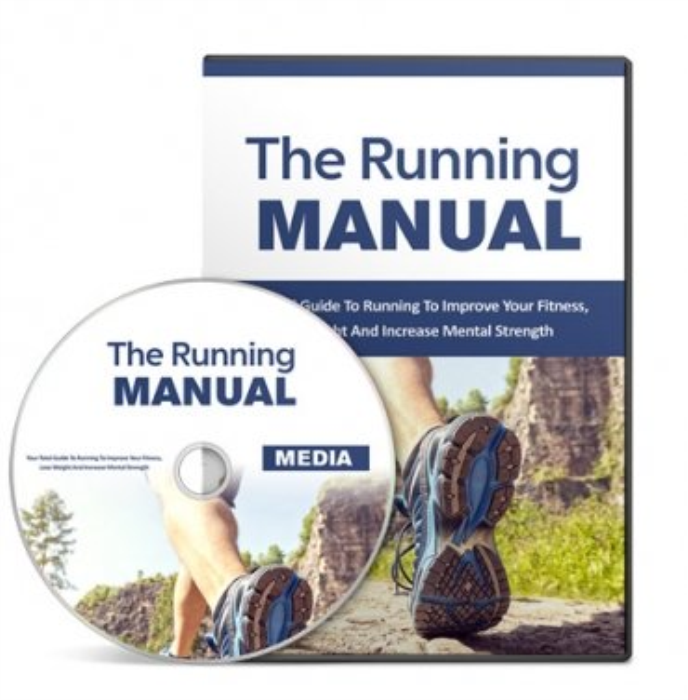 First Additional product image for - The Running Manual + Gold
