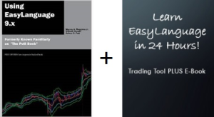 combo: using easylanguage 9.x book plus learn easylanguage in 24 hours trading tool