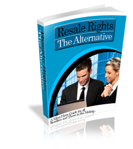 what is resell rights and how you can build a profitable business  with it
