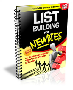 why build and use a list?