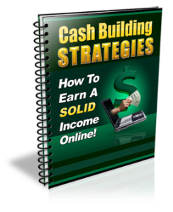 cash build strategies how to earn a solid income online
